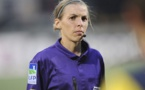 Stéphanie Frappart officie depuis cette saison en Ligue 2 (photo DR)