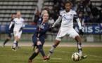 Kosovare Asllani et le PSG s'inclinent lourdement devant l'OL de Wendie Renard (photo PSG.fr)