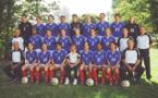 Les Bleues en préparation à la Coupe du Monde 2003 (photo archive Sébastien Duret)