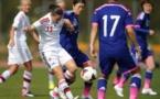 Johanna Rasmussen, buteuse face au Japon, l'avait été aussi contre la France à l'Euro 2013 (photo JFA)