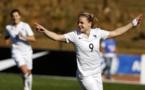 Sixième but en six matchs pour Le Sommer avec les Bleues (photo AFP)
