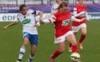 Delphine Cascarino a marqué son premier but en équipe A face à Rouen (photo Fred Rouen)
