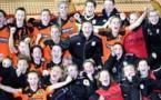Glasgow City après avoir sorti les Suissesses de Zürich (photo club)