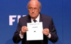 L'annonce de Sepp Blatter (photo FIFA)
