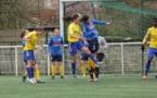 Céline Chatelain, au centre en jaune et la VGA ont été en difficulté pour s'imposer (photo Marceau Carré)
