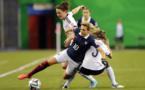 Claire Lavogez et les Bleues ont échoué en demi-finale de la Coupe du monde U20 en 2014 (Photo FIFA.com)