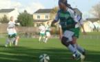 Béatrice Kaboré a signé un triplé face à Tours. Photo archives Football44.fr