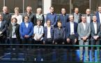 Les représentants des clubs de D1 (photo FFF)