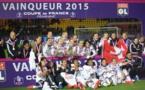 Les Lyonnaises réussissent un quatrième doublé Coupe Championnat consécutif (photo Sébastien Duret)