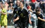 Celia Sasic devient seule meilleure buteuse de la compétition avec dix buts (photo FFC)