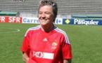 L'ancienne internationale A et sélectionneure lors des 40 ans du football féminin (photo Sébastien Duret)