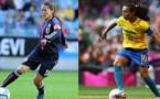 Sixième mondial pour Sawa, quatrième pour Marta (photo FIFA)