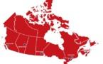Le Canada et ses six villes d'accueil (source FIFA)