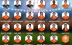 Les 23 néerlandaises