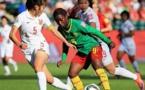 Ngono Mani et le Camerouns'arrêtent en huitième (photo FIFA)
