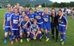 Les Saint-Romanaises soulèvent la coupe de l'Isère