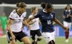 Annike Krahn était titulaire contre les bleues. Photo Fifa.com