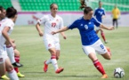 Clarisse Le Bihan et les Tricolores ont réalisé un très mauvais départ (photo FFSU)