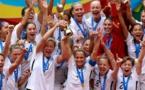 Les Etats-Unis sur le toit du Monde (photo FIFA.com)