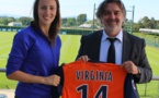 Virginia Torrecilla portera le n°14 à Montpellier (photo MHSC)