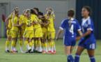 La Suède s'impose 3-0 face au pays hôte