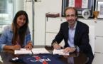 Shirley Cruz a prolongé d'une saison au PSG (photo club)