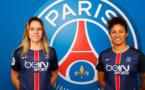 Erika et Cristiane rejoignent le PSG pour respectivement deux et une saison (photo PSG)