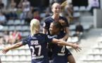 Laura Georges a inscrit le troisième but (photo PSG.fr)
