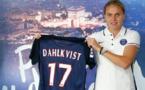 Lisa Dahlqvist,une nouvelle Suédoise en D1 féminine (photo PSG.fr)