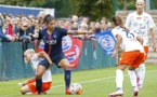 Cristiane n'a pas trouvé la faille face à Montpellier (photo PSG)