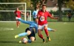 Alexandra Banner a inscrit son 4e but avec le Stade de Reims (photo Vincent Lapauw)