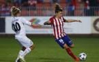 María León et l'Atletico ont comblé les deux buts de retard en Russie (photo Alex Martin)