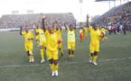 Les Mighty Warriors du Zimbabwe fêtent leur qualification historique pour les JO (photo Newsday)