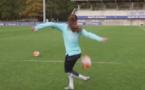 Bleues - Quand Amel MAJRI imite Raphaël VARANE (FFF TV)