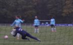 Bleues - Travail devant le but (FFF TV)