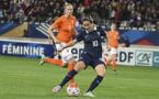 Abily a inscrit son 30e but sous le maillot bleue (photo Fred Grando)