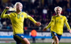 La rage de Seger, buteuse contre le Danemark (photo SVF)