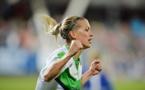 """Ligue des Champions - Lara DICKENMANN (VfL Wolfsburg) : """"Le plus important était d'en marquer un deuxième"""""""