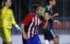 Nagore Calderón a marqué le premier but à l'OL (photo Atlético)