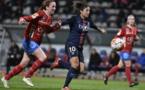 Cristiane est restée muette durant 90 minutes (photo PSG.fr)