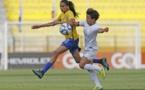 Andressa Alves passeuse décisive pour Erika (photo CBF)
