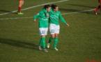 Chaumette et Peruzzetto, buteuses contre Rodez (photo Yoel Bardy)