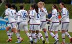 Les Lyonnaises se sont partagées les buts avec huit buteuses différentes