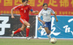 Thomis lors de Chine - France en janvier 2006 (photo archive Footofeminin)