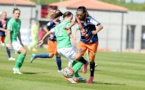 La Montpelliéraine Andressa Alves lors du match aller face à Saint-Etienne (photo MHSC)