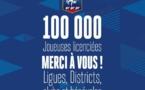 """FFF - 100 000 joueuses licenciées - Brigitte HENRIQUES : """"Aujourd'hui, nous y sommes"""""""