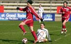 Les Ruthénoises ont joué devant un nombreux public face à l'OL