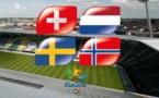 JO 2016 (Europe) - PAYS-BAS, NORVEGE, SUEDE et SUISSE pour un billet
