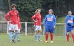 Matondo à gauche n'a pas trouvé la faille pour Le Puy (photo B. Julliand/Le Puy Foot)