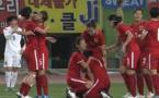 La joie chinoise au coup de sifflet final (capture image CCTV5)